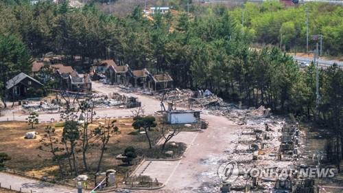동해시, 산불 피해복구 추진단 가동…기반시설 복구 총력
