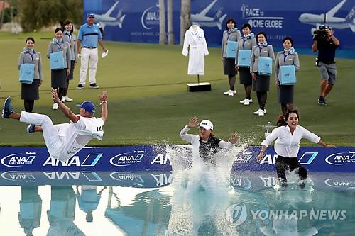 ANA 인스퍼레이션 우승 고진영, 한국인 15호 '메이저 퀸'