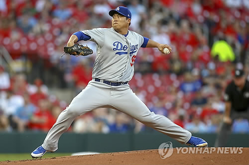 류현진, 부상 후 이틀 만에 투구 훈련…복귀 청신호