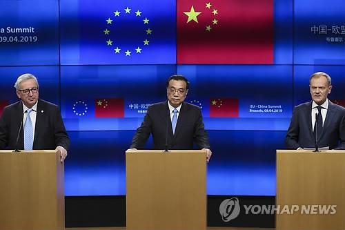 """""""EU, 중국 강하게 압박해 시장개방 등 원하는 것 얻어"""""""