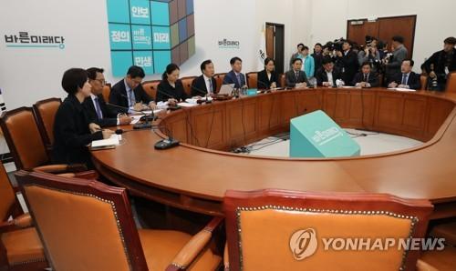 '지도부 총사퇴' 연판장까지…비등점 치닫는 바른미래 '내홍'