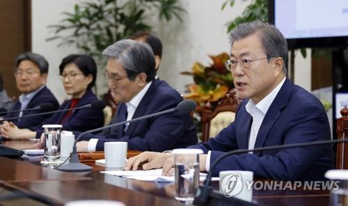 文대통령, 남북회담 추진 공식화…'구체적·실질적' 核중재 시동