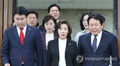 """나경원 """"남북회담만 백번 천번 한다고 비핵화되나"""""""