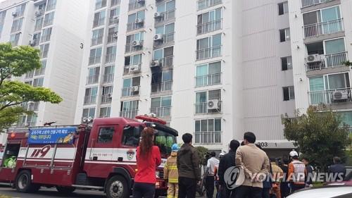 진주 아파트 방화·흉기난동 10대 4명 사상…교육당국 지원