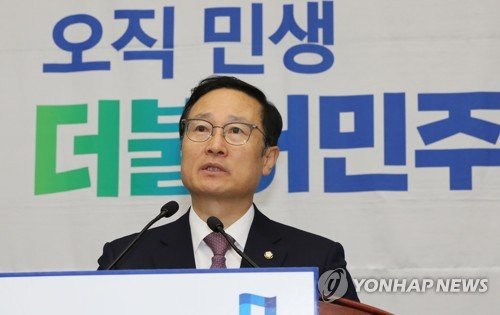 與, 40분만에 '일사천리' 만장일치 추인…한국당 '강온' 압박