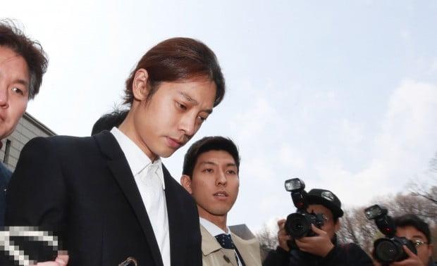 영장심사 마친 '성관계 몰카' 정준영  /사진=연합뉴스