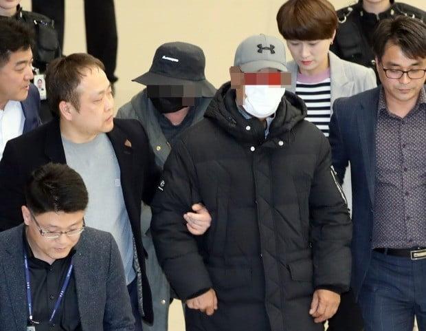 마이크로닷 부모 귀국, 공항에서 체포 사진=연합뉴스