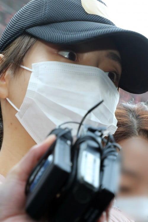 검찰 송치된 황하나 (사진=연합뉴스)