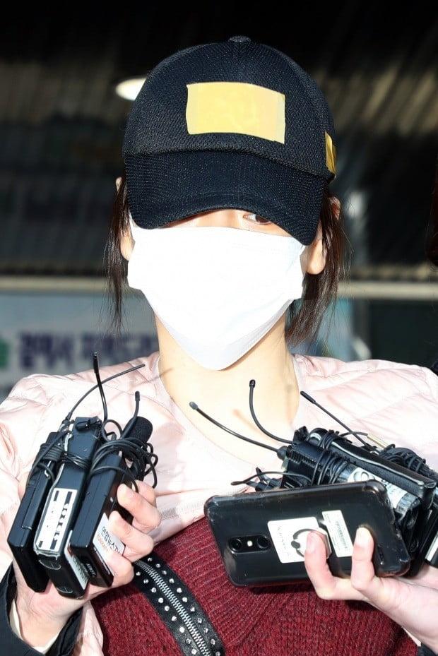 황하나 /사진=연합뉴스