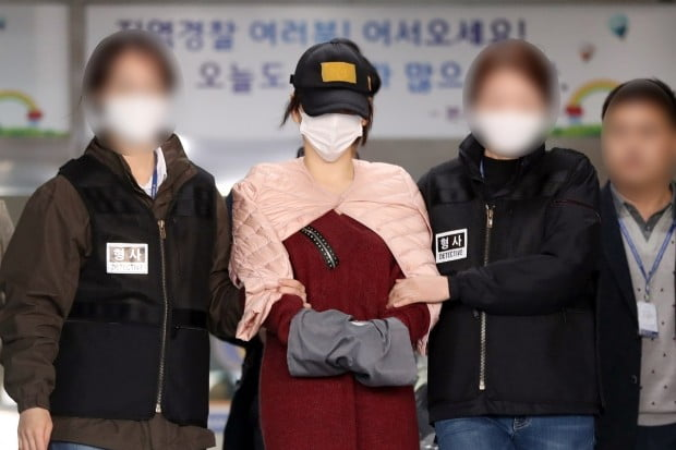 '마약 혐의' 황하나, 검찰 송치 /사진=연합뉴스
