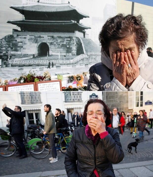 노트르담 대성당 화재, 11년 전 숭례문 화재와 같은 아픔(사진=연합뉴스)
