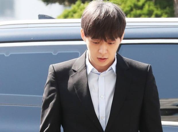 '마약 혐의' 경찰 출석한 박유천/사진=연합뉴스