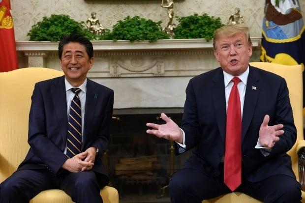 미·일 정상 1박2일 회담…비핵화 공조 등 논의