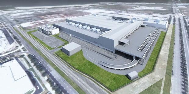 다이슨 싱가포르 전기차 제조시설 렌더링