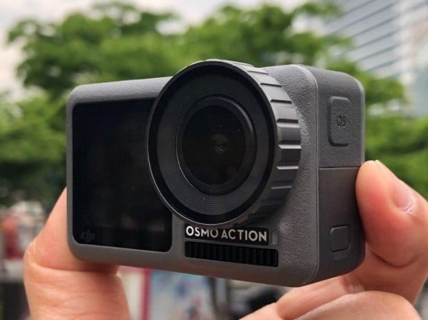 DJI, 4K 액션캠 '오즈모 액션' 출시…45만9000원