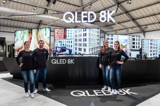 삼성전자는 지난 2월 유럽 포르투갈에서 진행된 '삼성포럼 유럽 2019' 행사에서 2019년형 QLED 8K TV 라인업을 소개했다.
