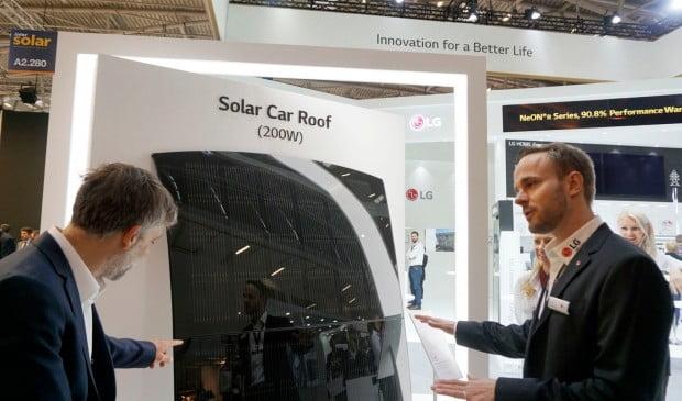 LG전자, 독일 '인터솔라 2019'서 혁신 태양광 제품 전시