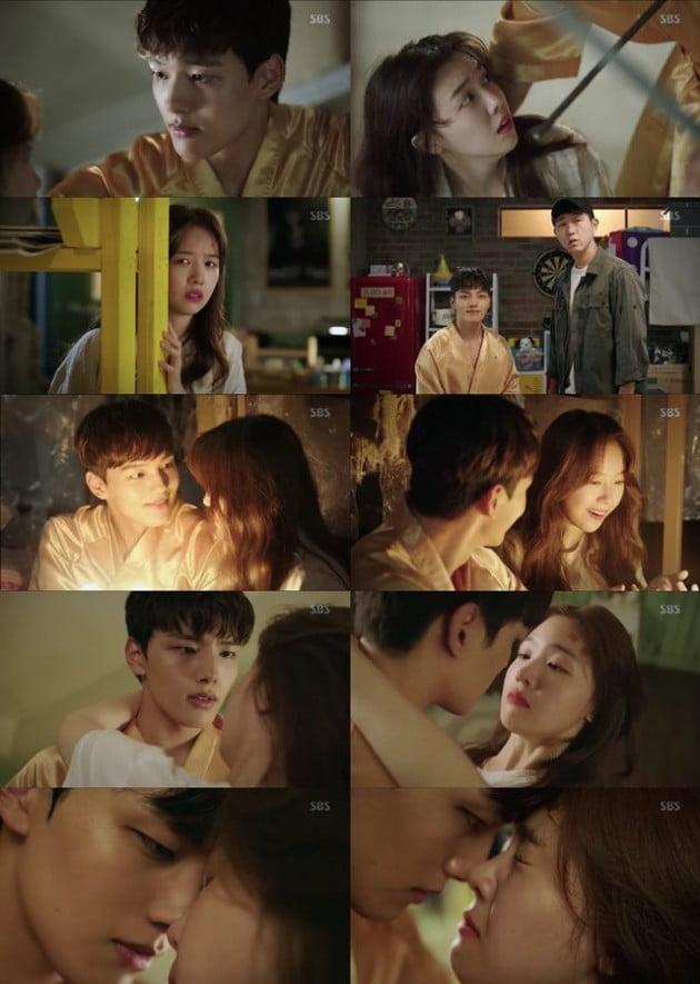 '절대그이' 여진구 방민아/사진=SBS 수목드라마 '절대그이' 영상 캡처