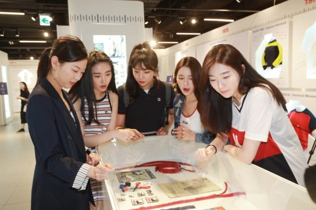 휠라코리아, '휠라 뮤제오' 전시 개최…윤윤수 회장 참석