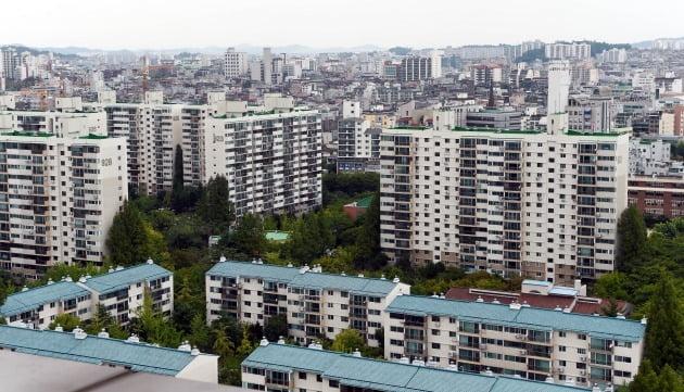 서울의 한 아파트 단지. 한경DB