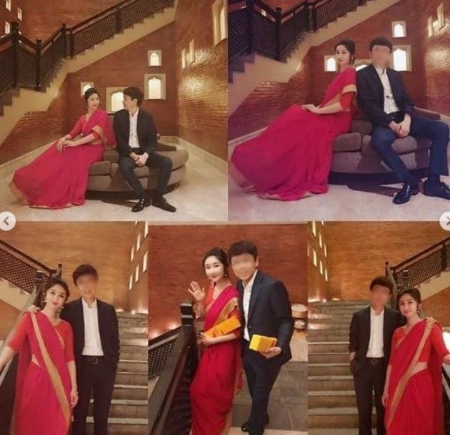 성은채 네 번째 결혼식 /사진=성은채 인스타그램