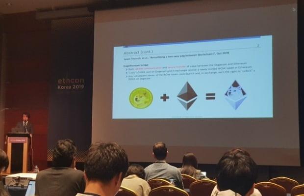 이더리움 블록체인 개발자 컨퍼런스 이드콘 한국이 27일 열렸다.