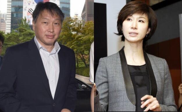 최태원 SK회장-노소영 아트센터 나비 관장(한경 DB)