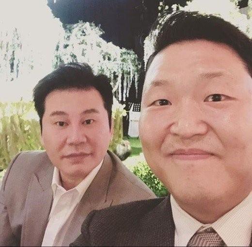 YG 양현석 대표, 싸이 /사진=싸이 인스타그램