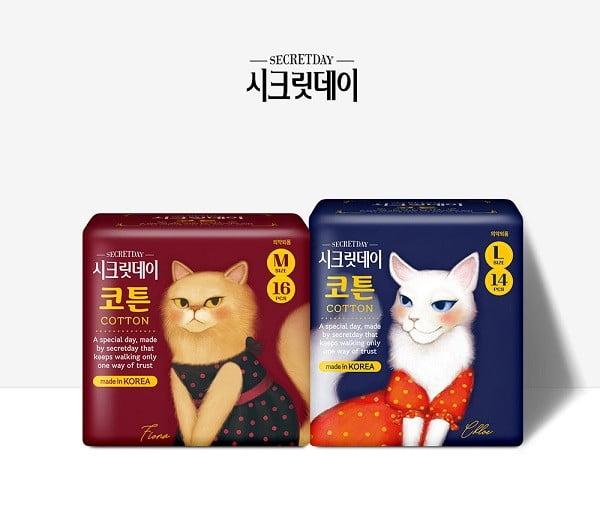 중원주식회사 '시크릿데이', 한국기업평판연구소 생리대 5월 조사 1위