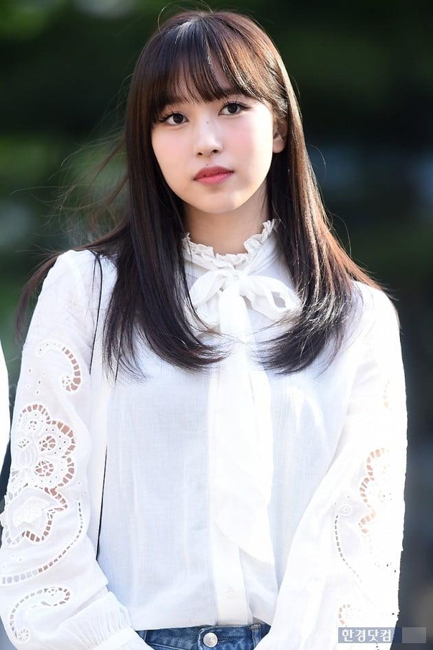 [포토] 트와이스 미나, '무표정으로 도도하게~'