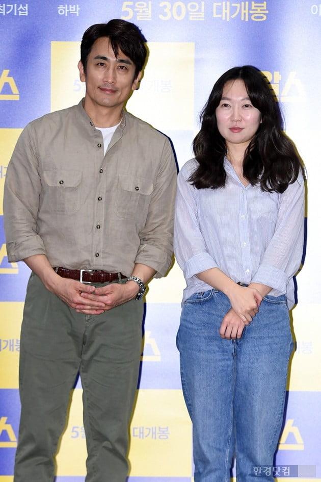 [포토] 차인표-전혜림, '영화 옹알스의 두 감독'