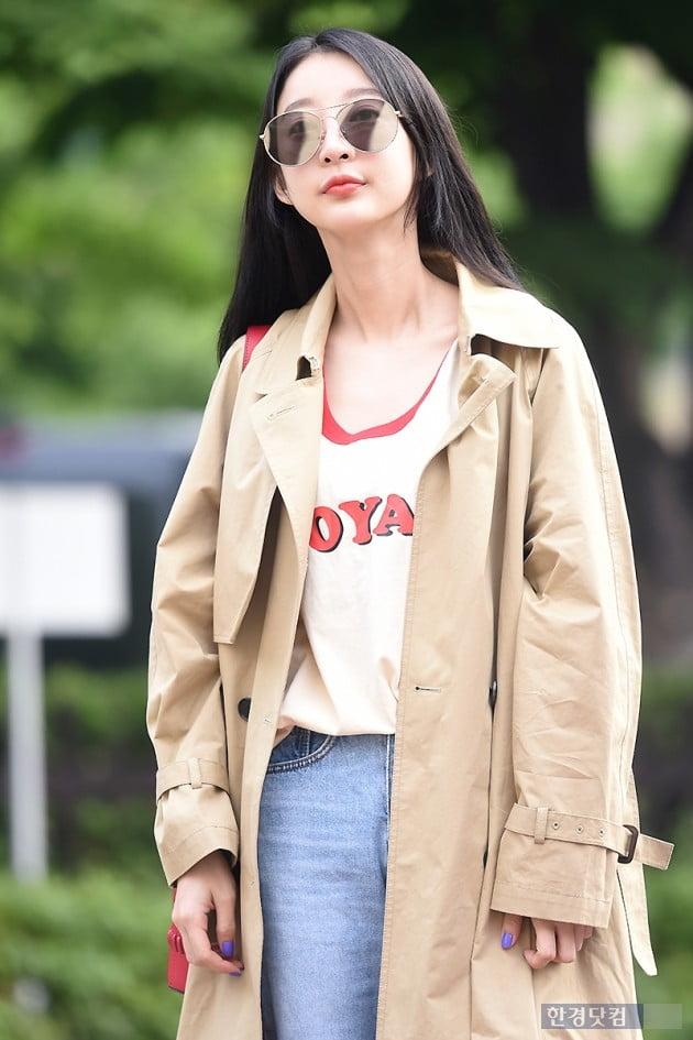 [포토] EXID 혜린, '선글라스 쓰고 시크하게~'