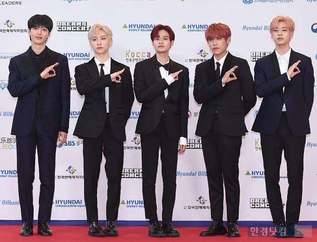 [포토] AB6IX, '데뷔 전 드림콘서트 첫 무대' (2019 드림콘서트)