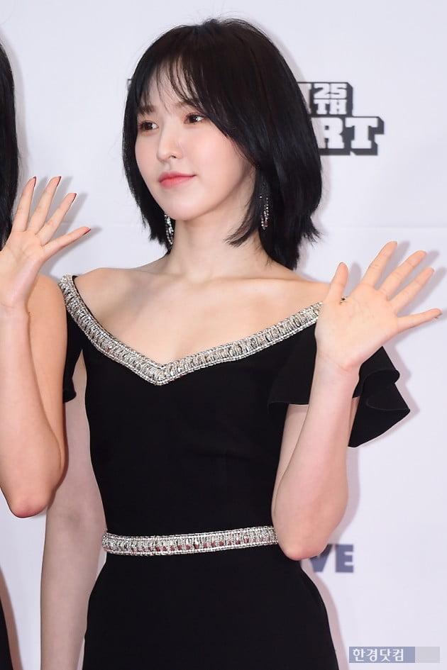 [포토] 레드벨벳 웬디, '우아한 단발로 변신' (2019 드림콘서트)