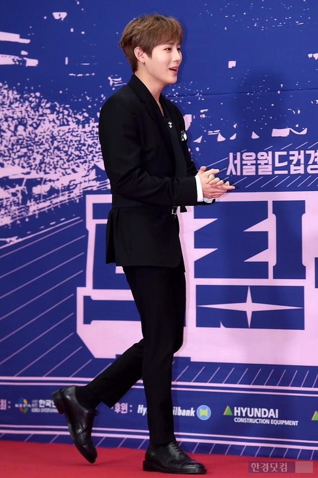 [포토] 하성운, '블랙으로 멋지게 차려입고 등장~' (2019 드림콘서트)