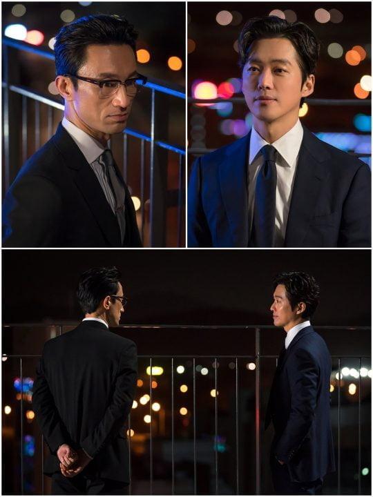 최근 종영한 KBS2 '닥터 프리즈너'의 김병철과 남궁민./사진제공=지담