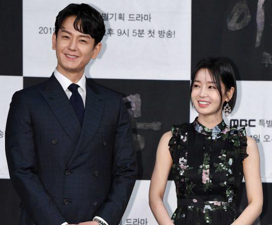 MBC '이몽'에 출연하는 배우 임주환(왼쪽), 남규리/조준원 기자 wizard333@