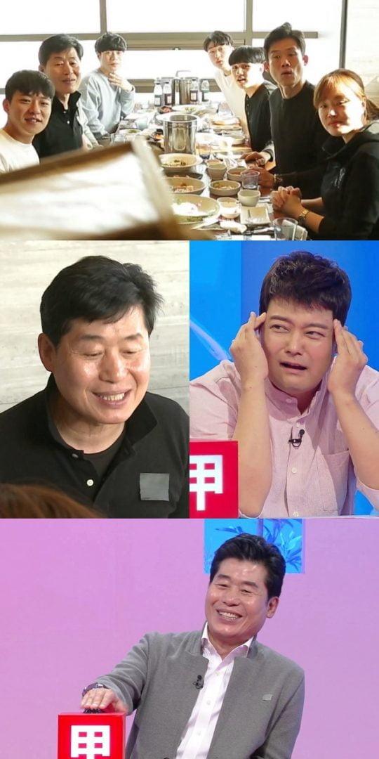 부산점 직원들을 위해 회식 자리를 마련한 이연복. /사진제공=KBS2 '당나귀 귀'