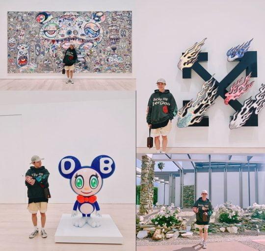 그룹 방탄소년단 제이홉. / 방탄소년단 공식 트위터