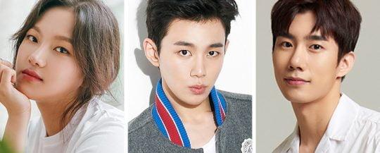 배우 정다은(왼쪽부터), 오승훈, 손우현/사진제공=각 소속사