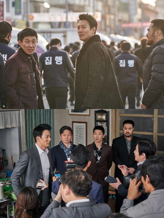 영화 '롱 리브 더 킹: 목포 영웅' 김래원 스틸/사진제공=메가박스중앙㈜플러스엠