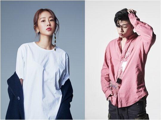 가수 소유(왼쪽), 오반. 사진제공=스타쉽 엔터테인먼트, 로맨틱팩토리