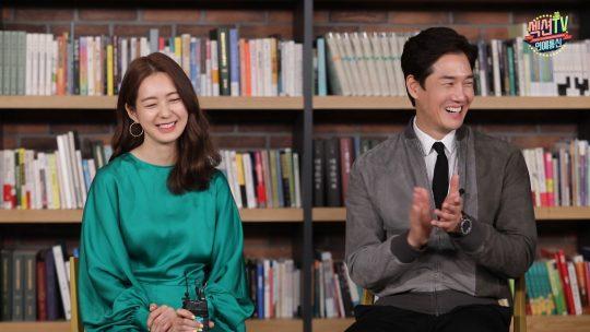 MBC '섹션TV 연예통신' 인터뷰에 참여한 배우 이요원, 유지태./사진제공=MBC