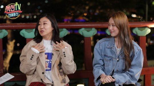 MBC '섹션TV 연예통신' 인터뷰에 나선 배우 라미란(왼쪽), 이성경./사진제공=MBC
