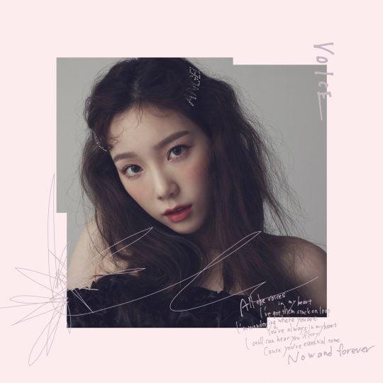 그룹 소녀시대 태연 첫 미니앨범 'VOICE' 커버 이미지 / 사진제공=SM엔터테인먼트