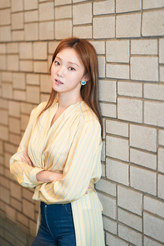 """배우 이성경은 """"연기로 신뢰를 줄 수 있는 배우가 되고 싶다""""고 했다./사진제공=CJ엔터테인먼트"""