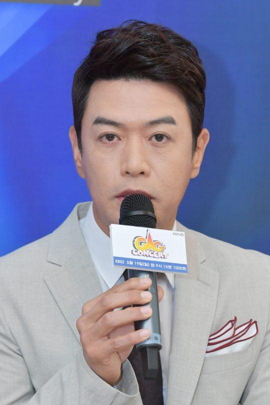 개그맨 김대희가 13일 오전 서울 여의도 KBS 누리동 쿠킹스튜디오에서 열린 '개그콘서트' 1000회 방송 기념 기자간담회에 참석했다. / 사진제공=KBS