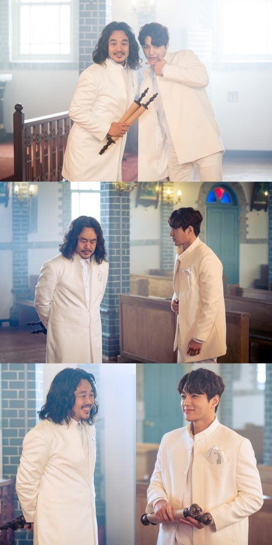 '단, 하나의 사랑' 김인권-김명수/사진제공= KBS2 '단, 하나의 사랑'