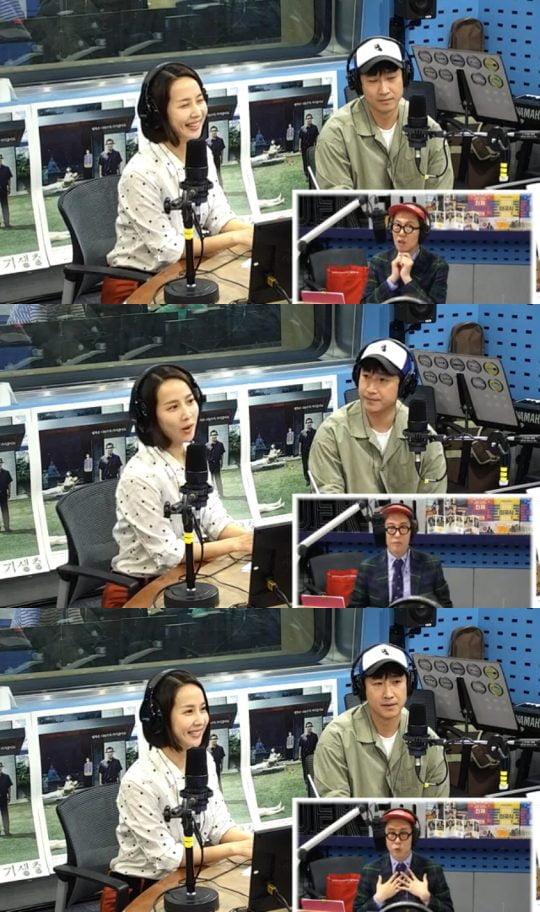 사진=SBS라디오 '김영철의 파워FM' 보는라디오 캡처
