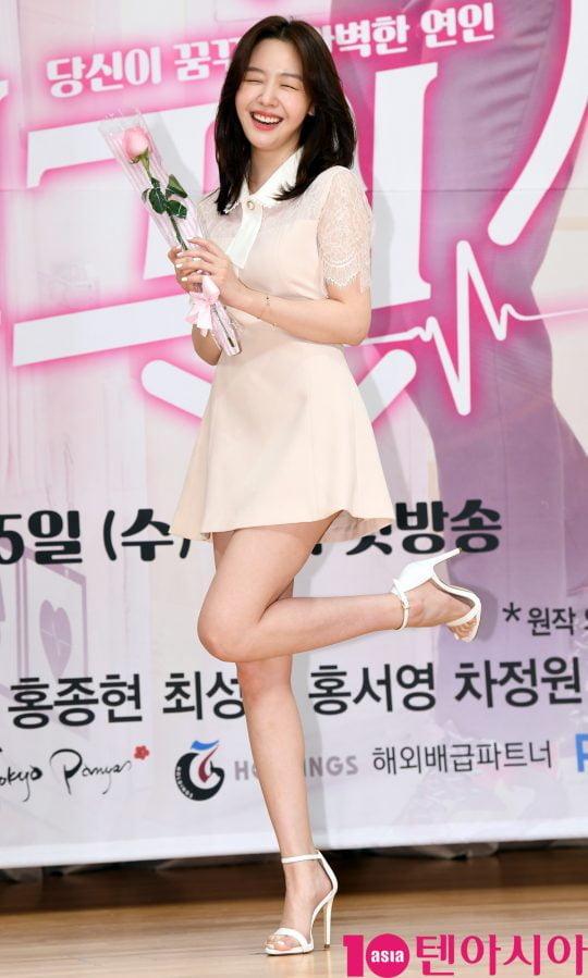 특수분장사 엄다다 역의 배우 방민아. /조준원 기자 wizard333@